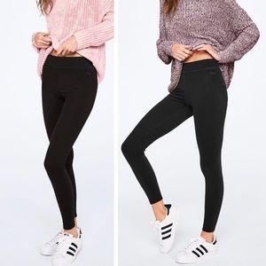 Medium PINK Essential Cotton Leggings